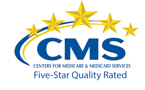 CMS five-star rated symbol