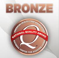 Quality award emblem
