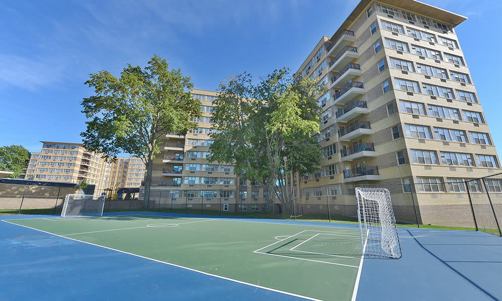 Sport court at Parkview at Collingswood Apartment Homes in Collingswood, New Jersey