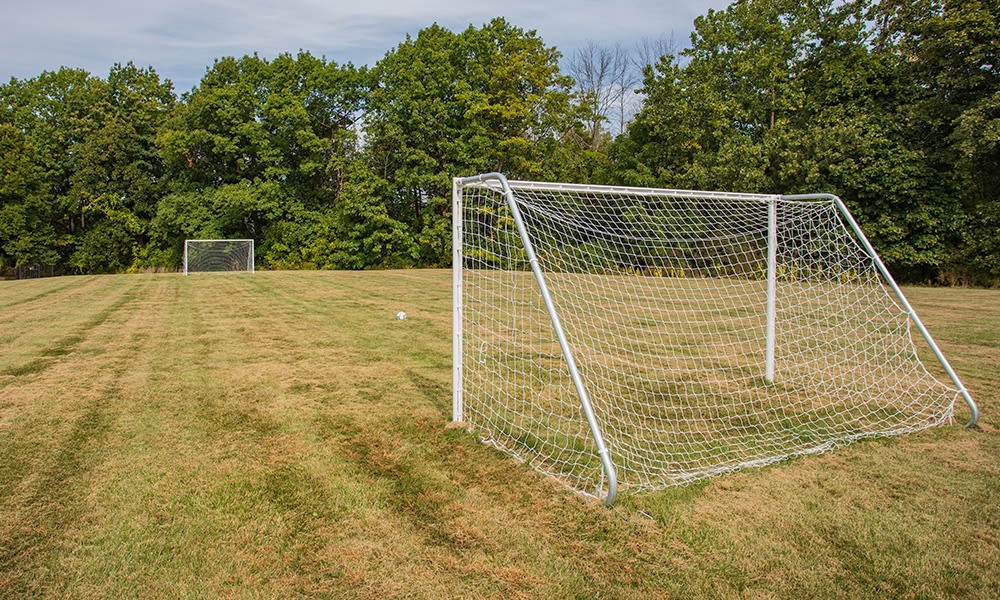 Soccer field at Webster Manor Apartments in Webster, New York