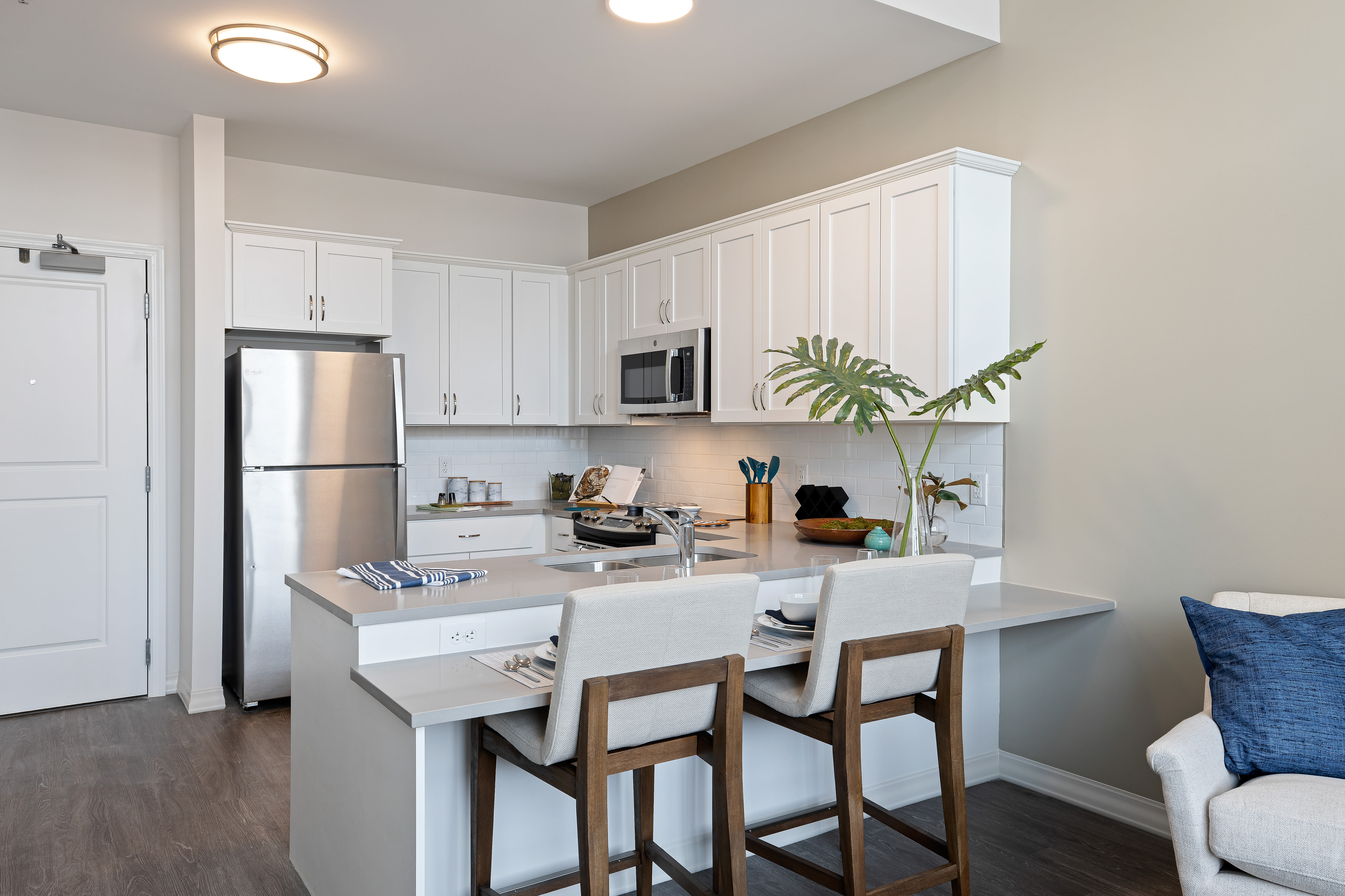 Resident kitchen Anthology of Mayfield Heights - NOW OPEN! in Mayfield Heights, Ohio