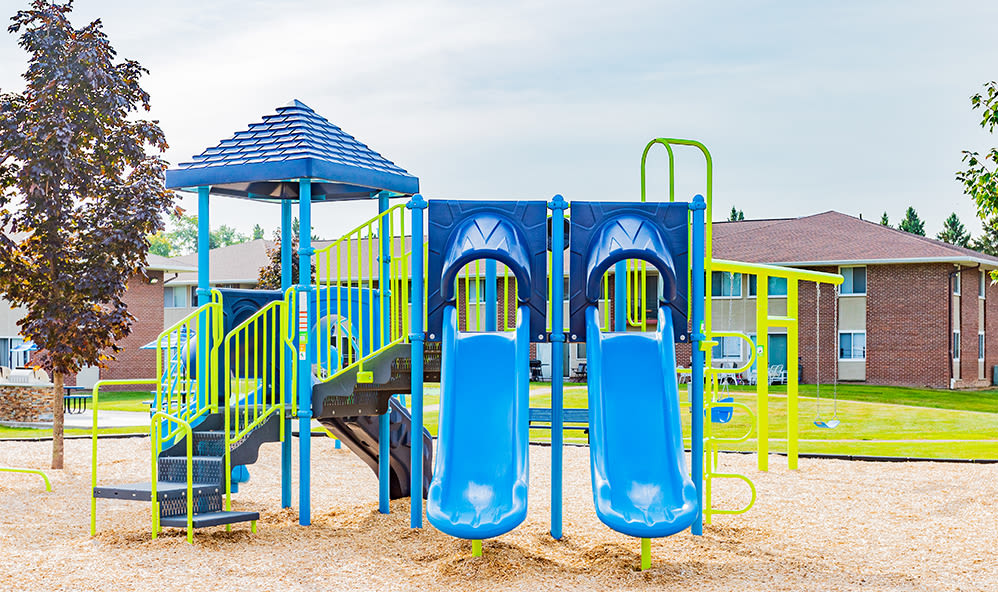Playgound at Creek Hill Apartments in Webster, New York