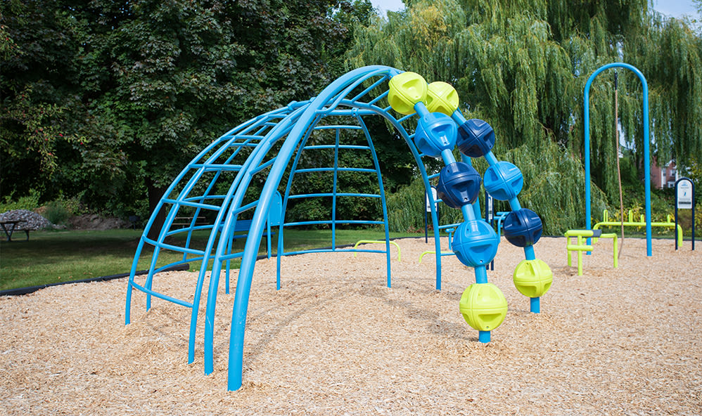 Recreational equipment at Waverlywood Apartments & Townhomes in Webster, New York