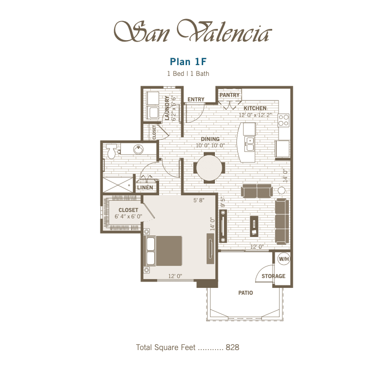 1F 2D floor plan image