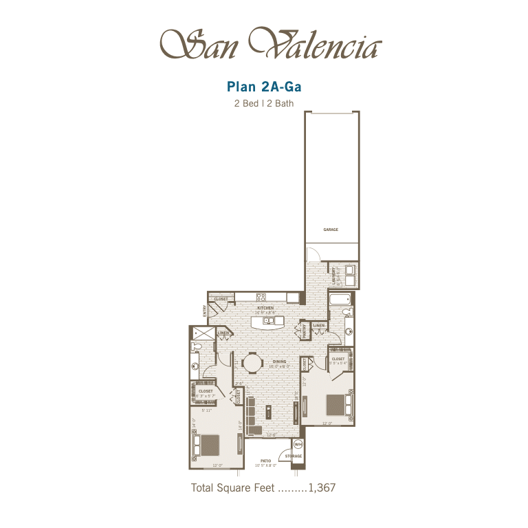 2A-Ga 2D floor plan