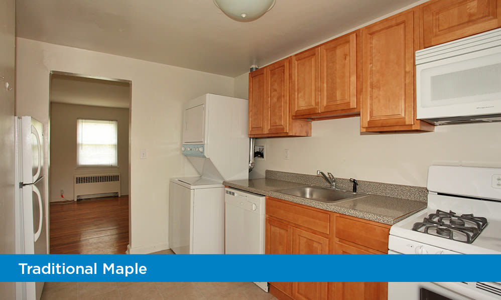 General Greene Village Apartment Homes offers a fully equipped kitchen in Springfield, NJ