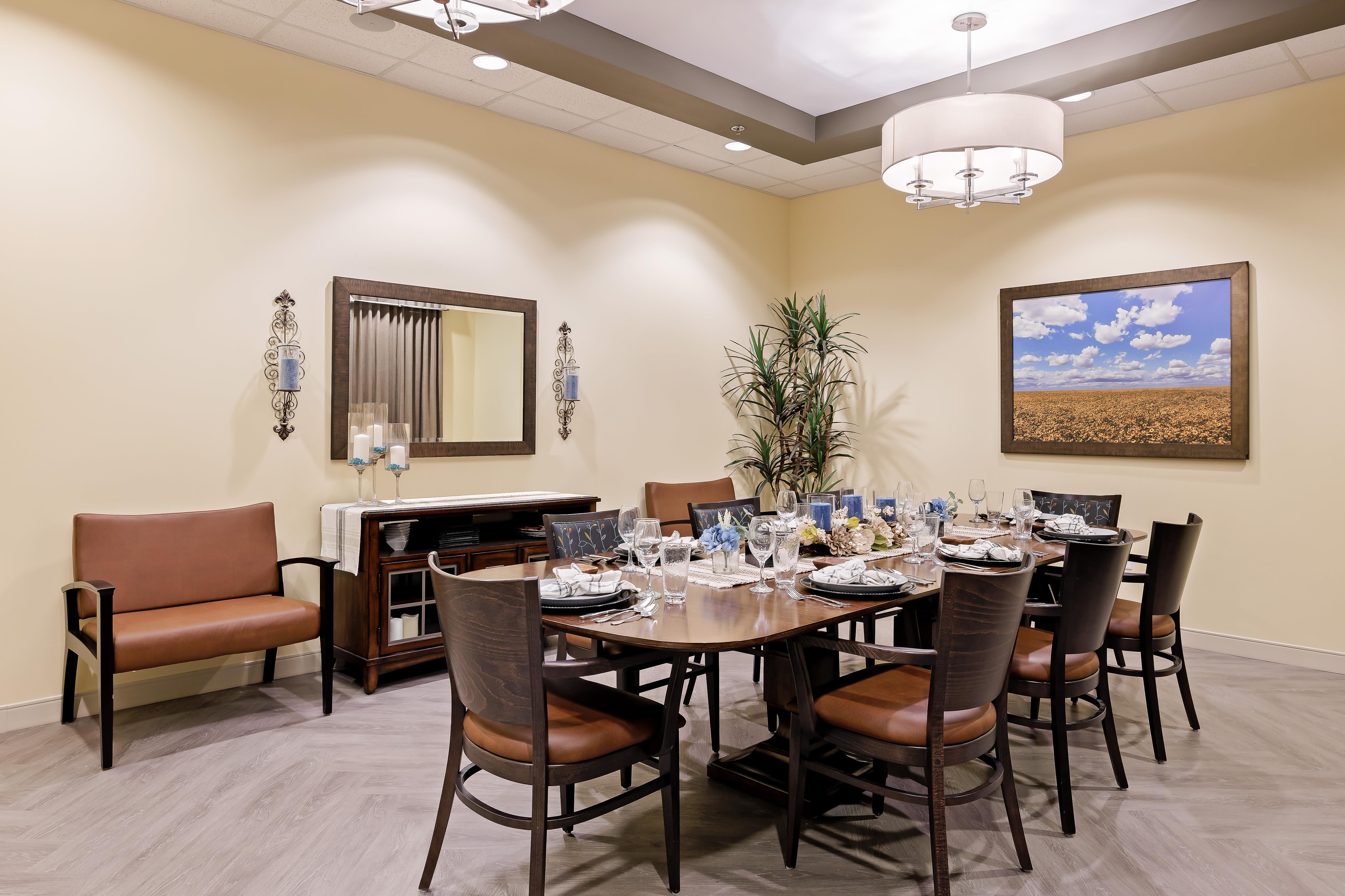 Private Dining at Anthology of Olathe in Olathe, Kansas
