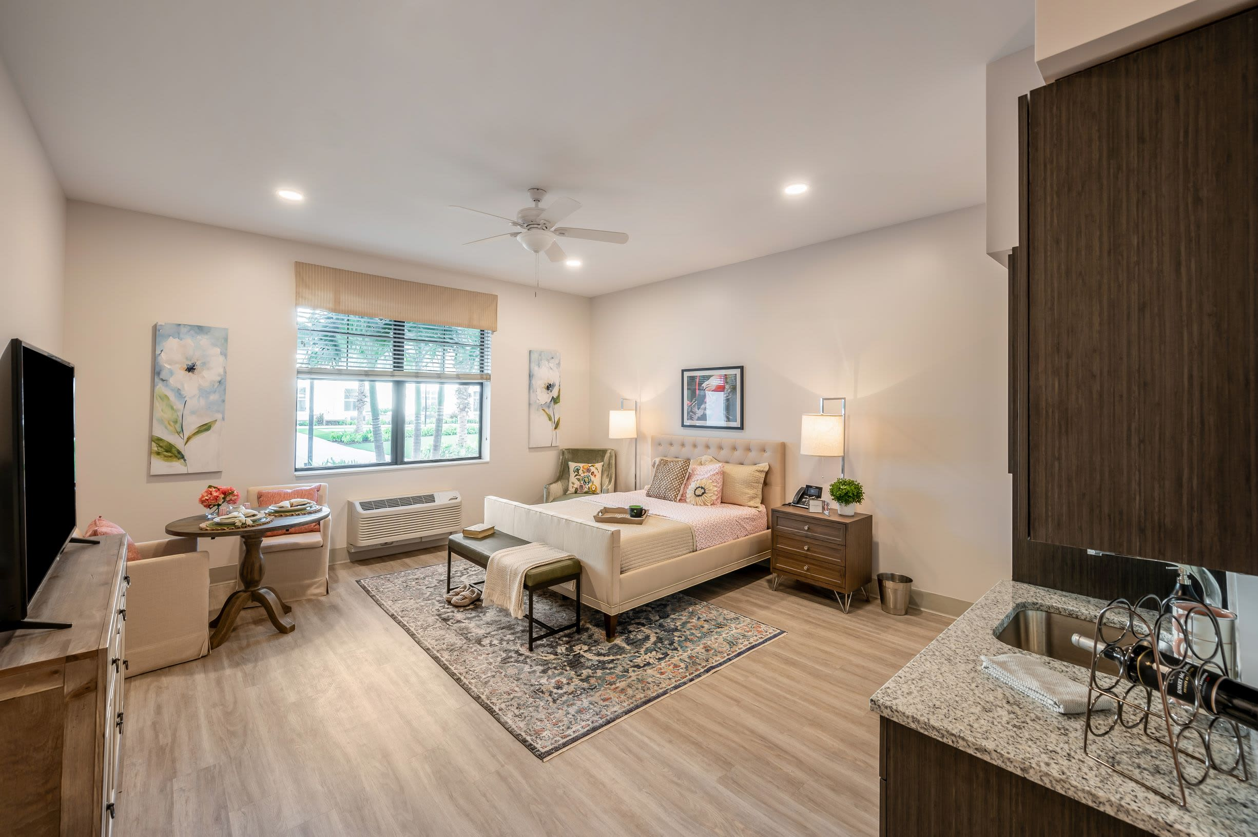 Model Room 3 at Alura By Inspired Living in Rockledge, Florida