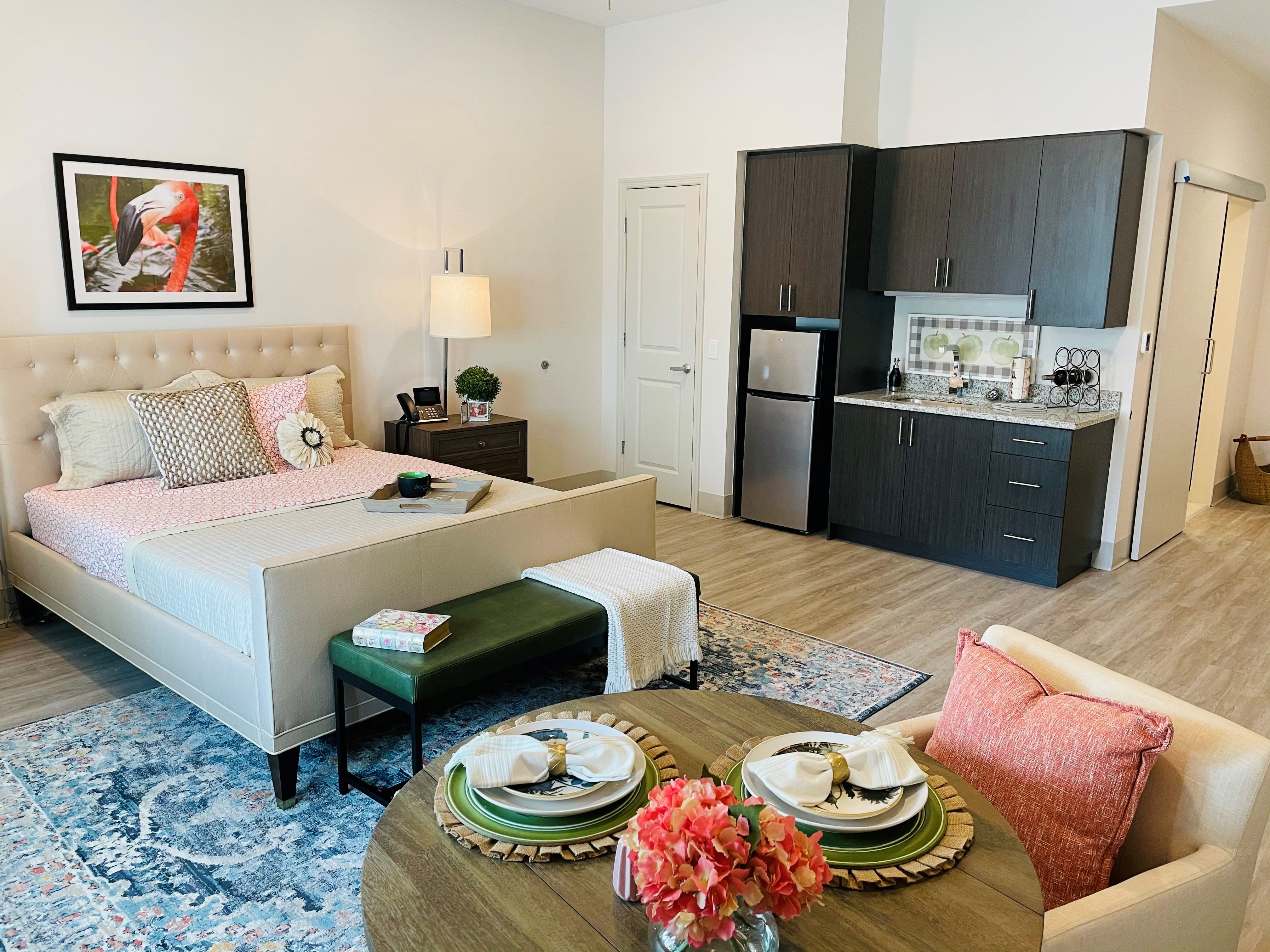 A Model Room of Inspired Living Royal Palm Beach in Royal Palm Beach, Florida