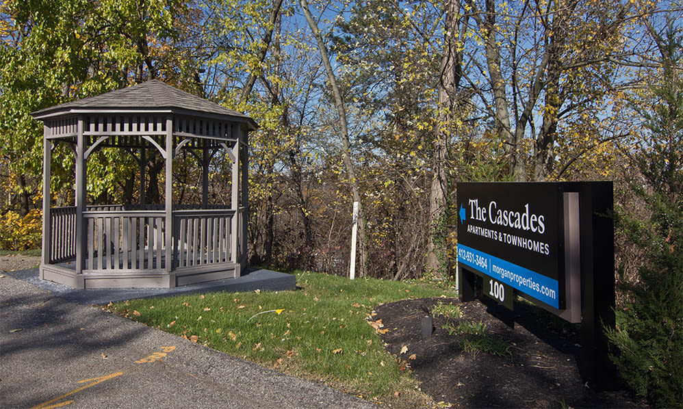 Gazebo at The Cascades Townhomes and Apartments in Pittsburgh, Pennsylvania