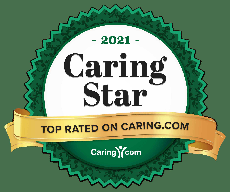 caring.com 2021 award logo