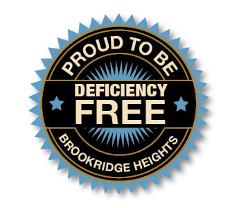 Proud to be Deficiency Free logo