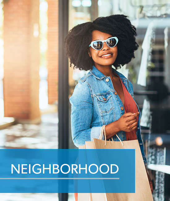 View the neighborhood near Easton Commons Apartments & Townhomes in Columbus, Ohio