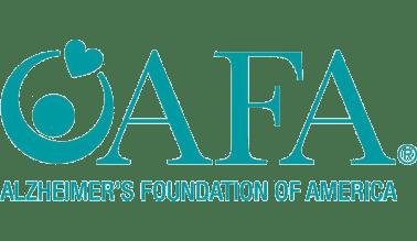 Alzheimer's Foundation of America logo