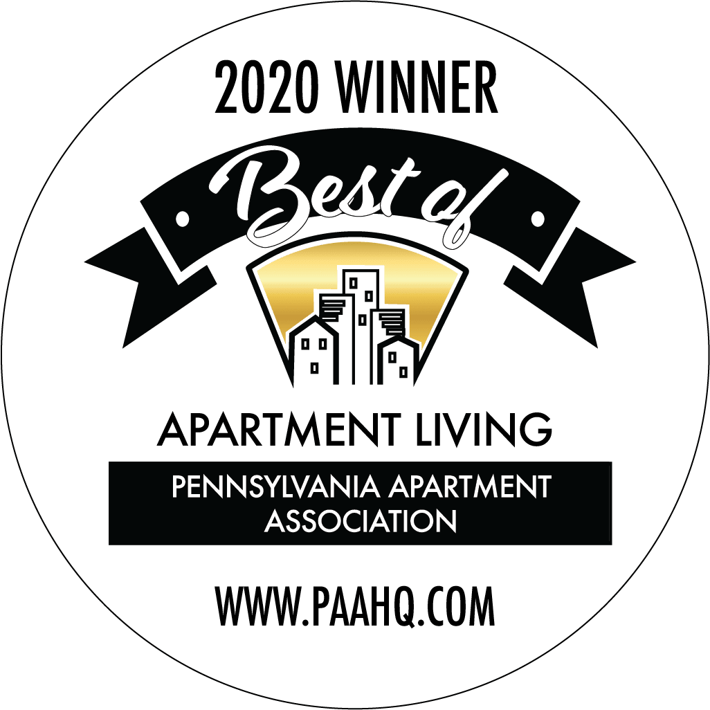 Pennsylvania apartment association award logo