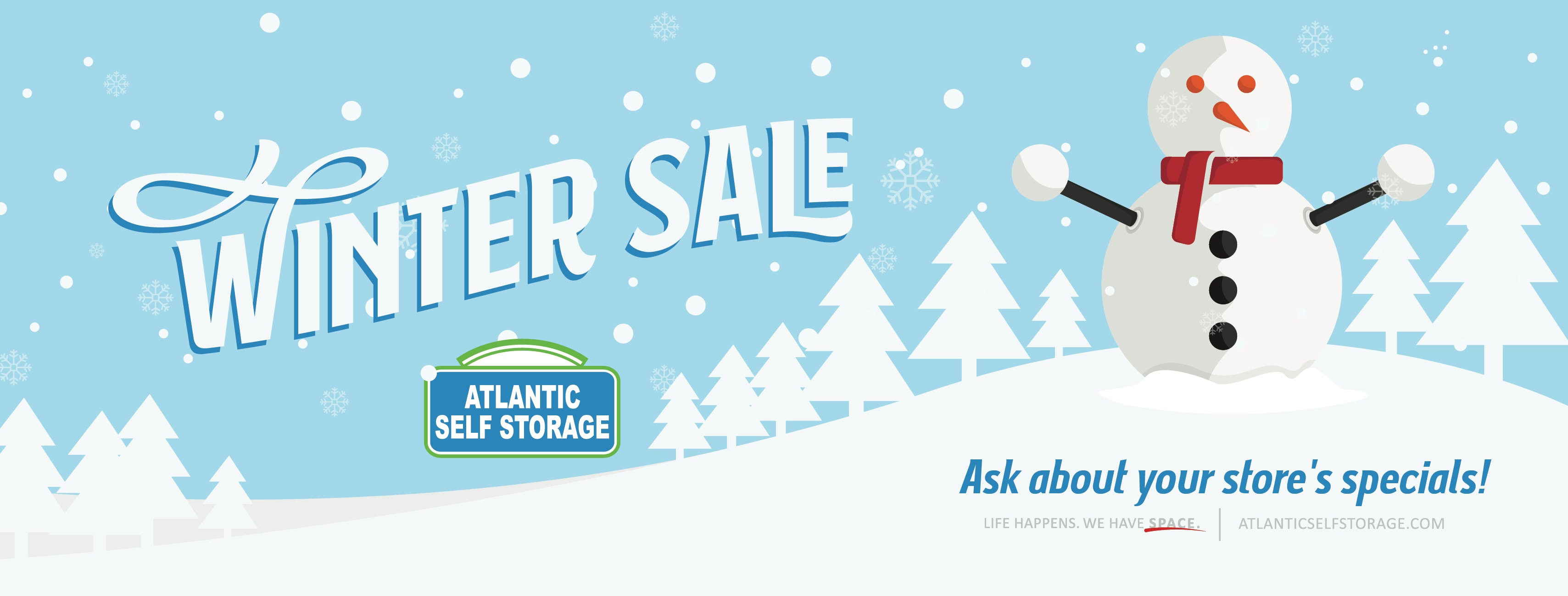 Fall sale at Atlantic Self Storage in Jacksonville, Florida