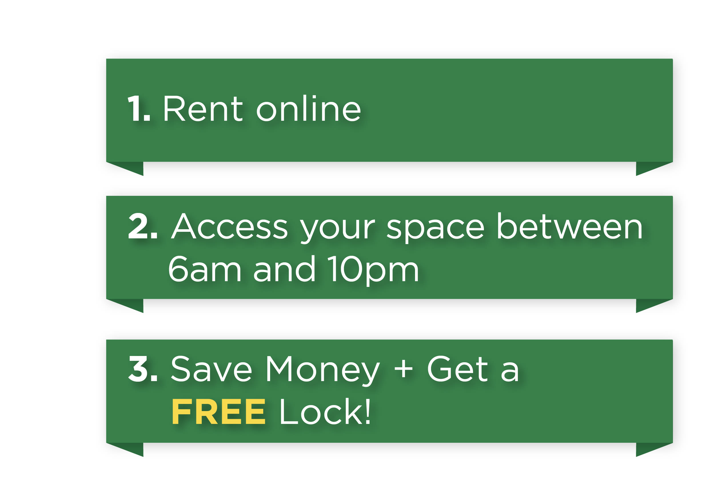 Rent online at Lockaway Storage in Texarkana, Texas
