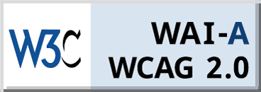 WCAG-A 2.0 Compliance badge for Arya Grove in Universal City, Texas