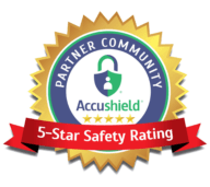 5-star safety rating for Golden Pond Retirement Community in Sacramento, California