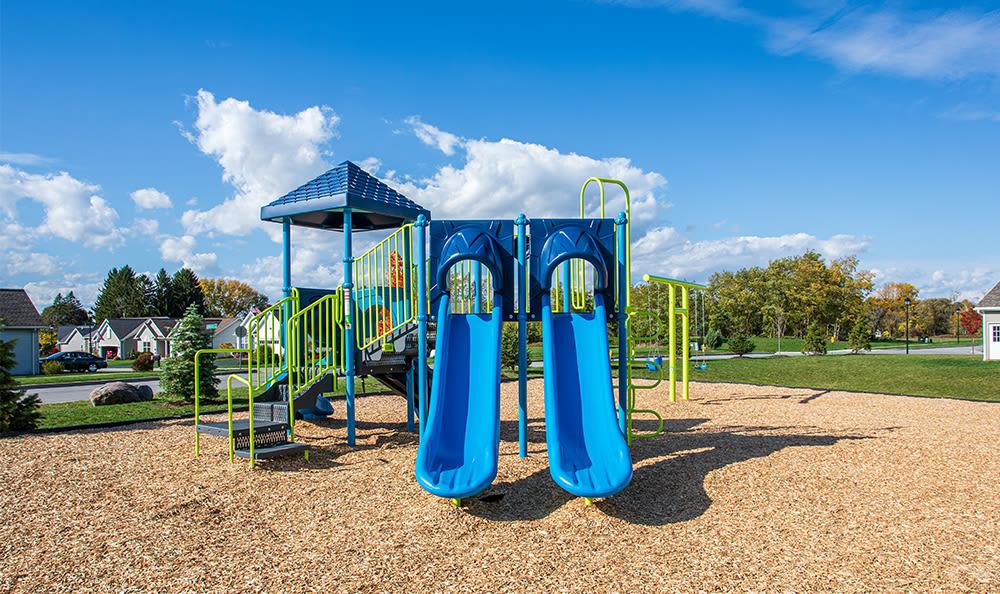 Playground at Avon Commons in Avon, New York