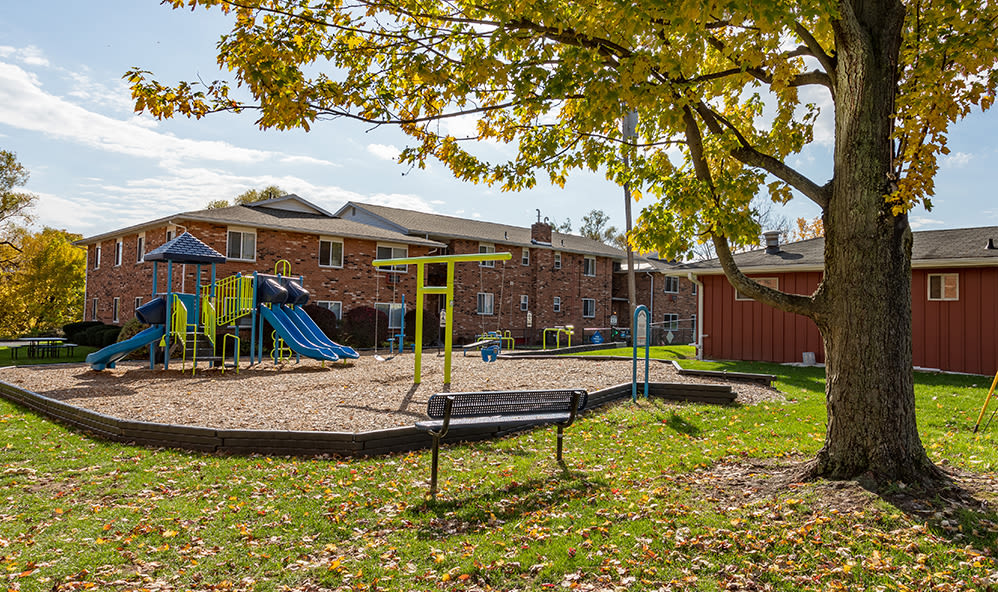 Playground at Knollwood Manor Apartments in Fairport, New York
