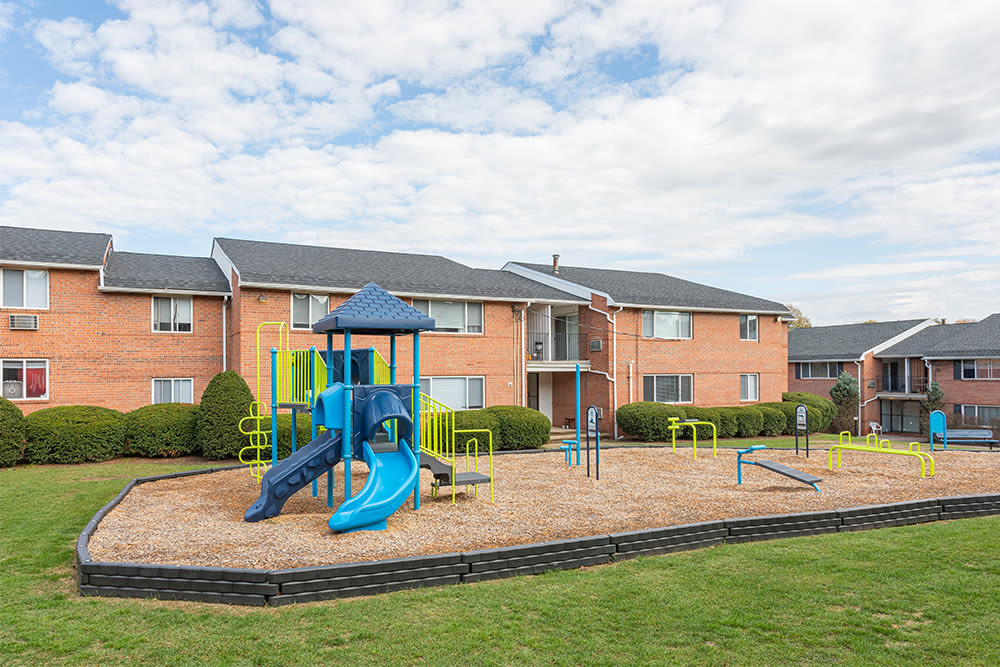 Playground at Perinton Manor Apartments in Fairport, New York