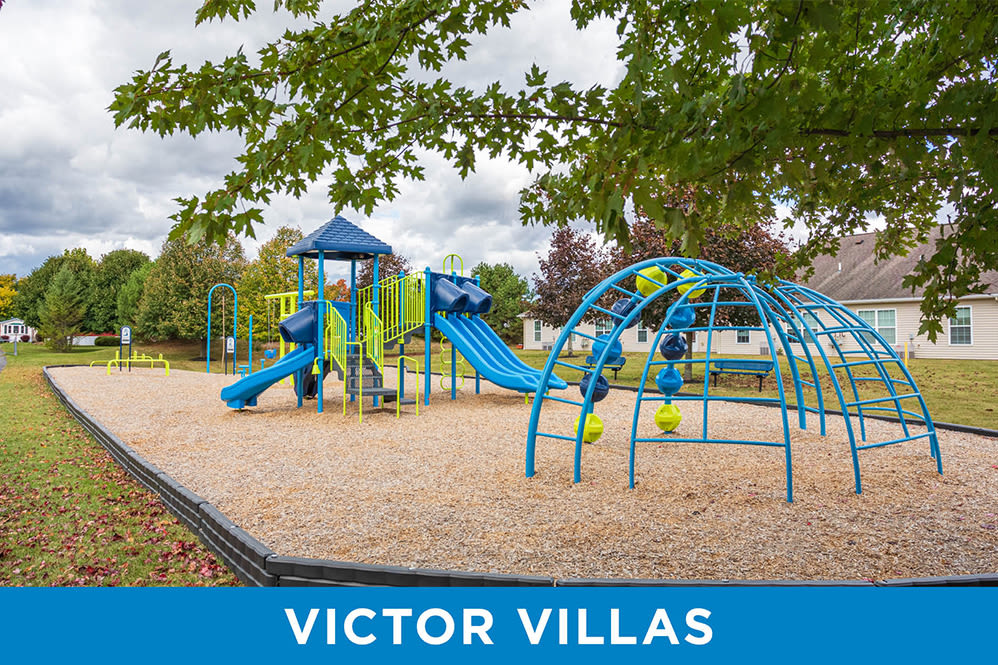 Playground at Regency & Victor Villas Apartments in Victor, New York