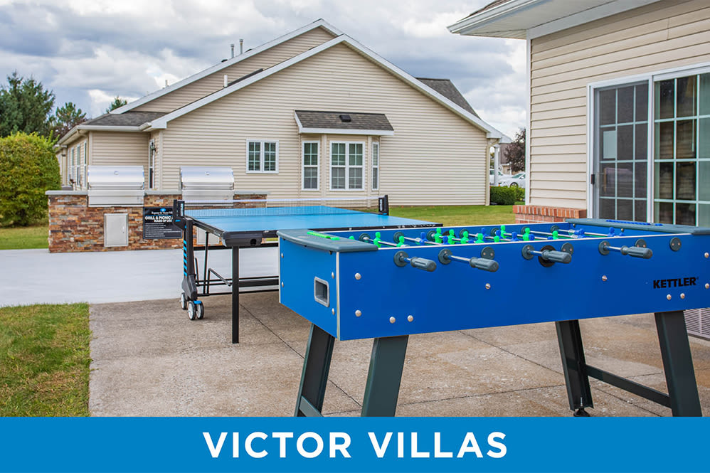 Outdoor games  at Regency & Victor Villas Apartments in Victor, New York