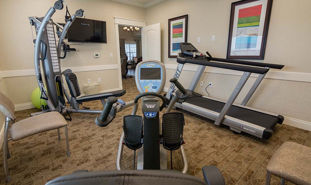 Field Pointe Assisted Living offers a fitness center in Saint Joseph, Missouri