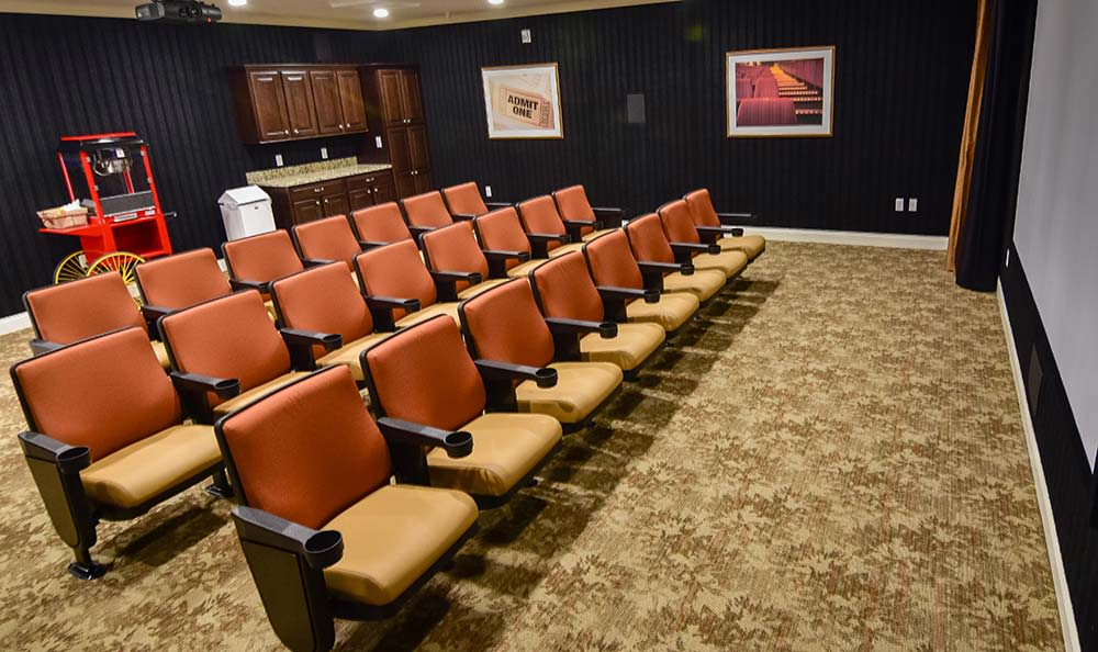 Field Pointe Assisted Living offers a movie theatre in Saint Joseph, Missouri