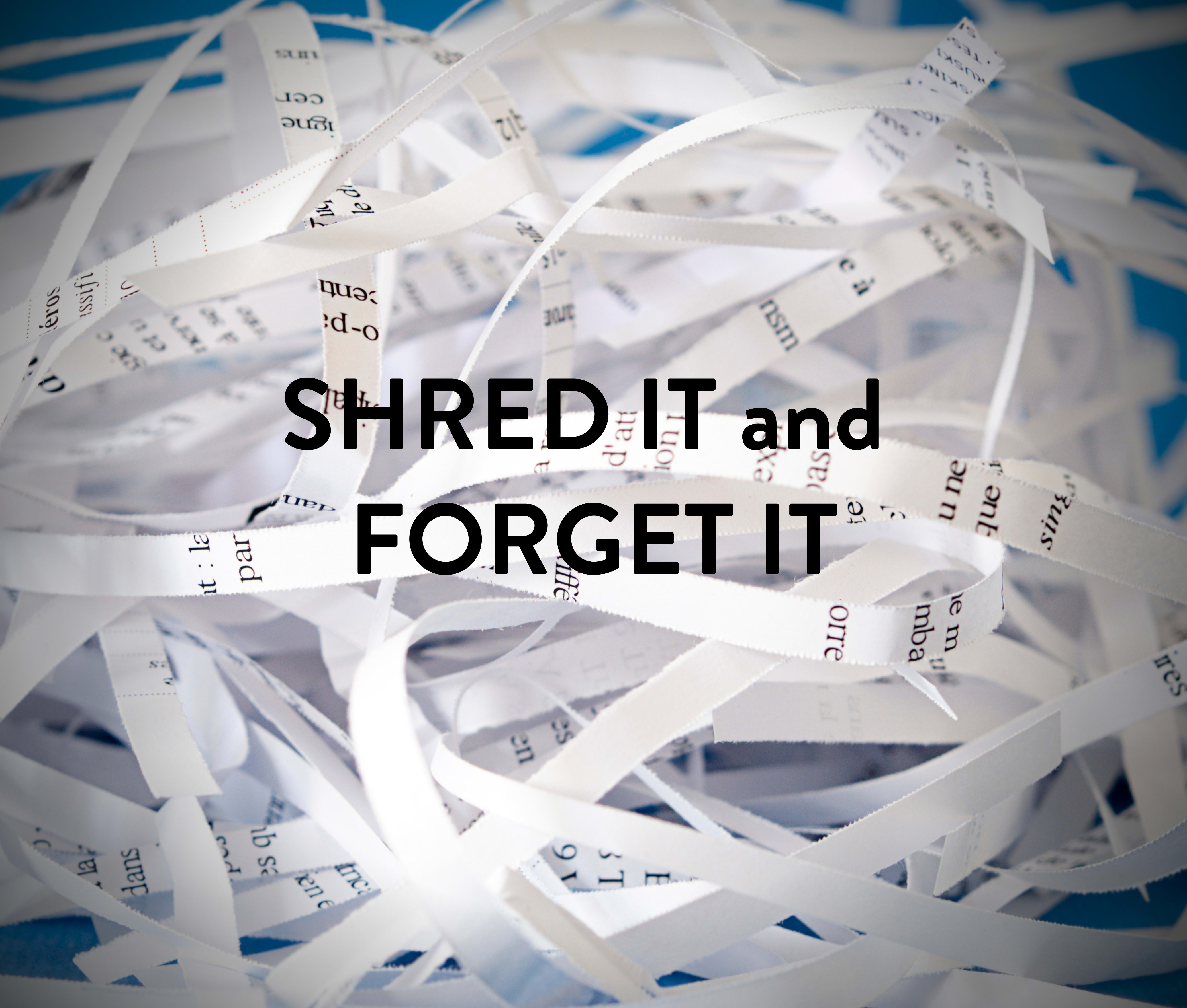 Shred it and Forget it event at Anthology of Blue Ash in Blue Ash, Ohio
