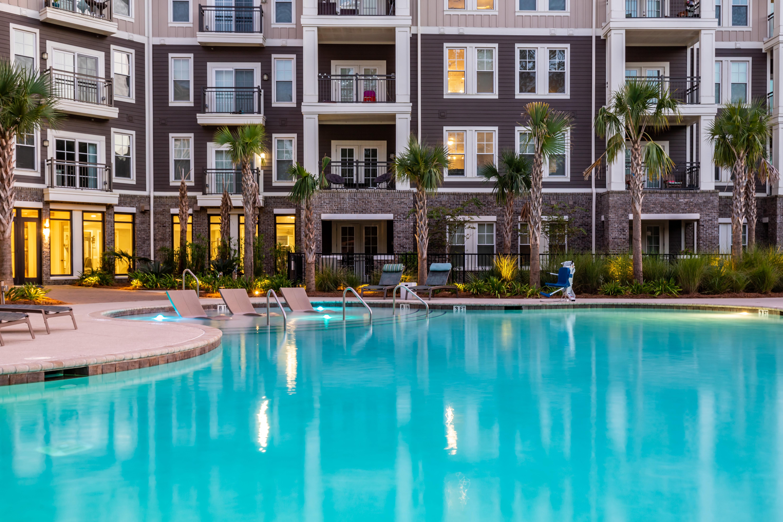 Outdoor pool at The Heyward in Charleston, South Carolina