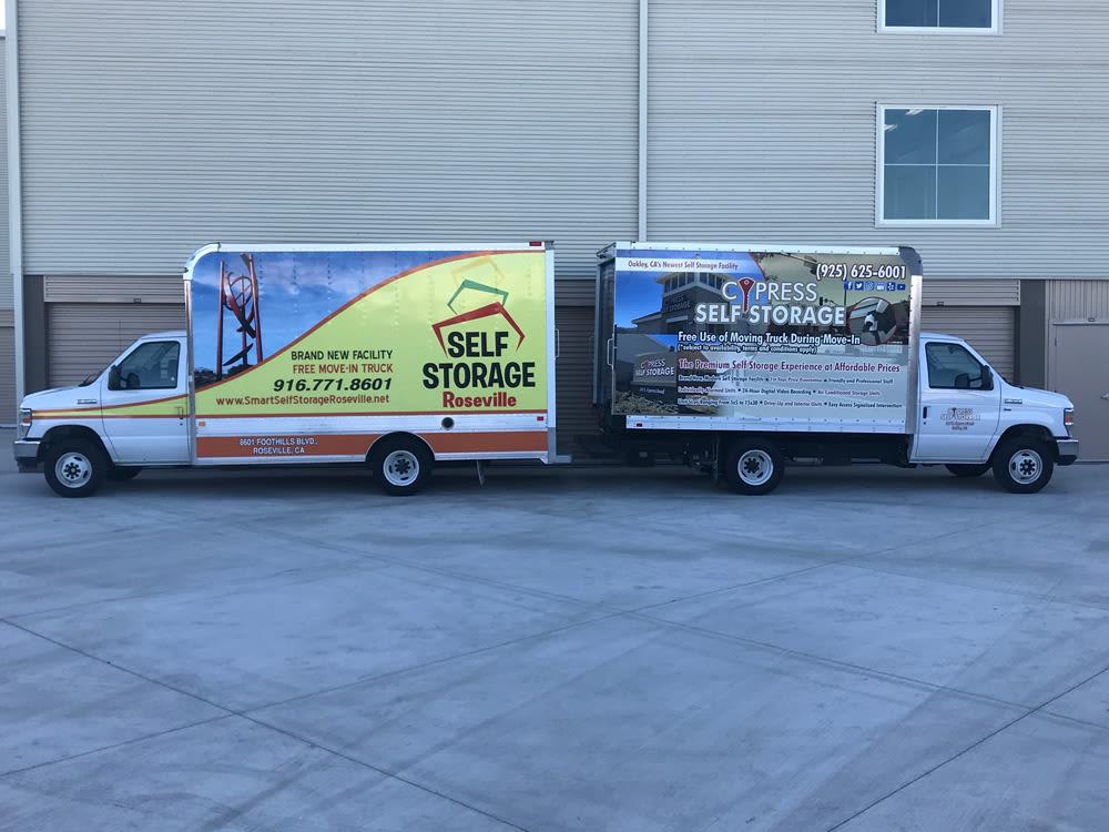 Cypress Self Storage Free Moving Trucks