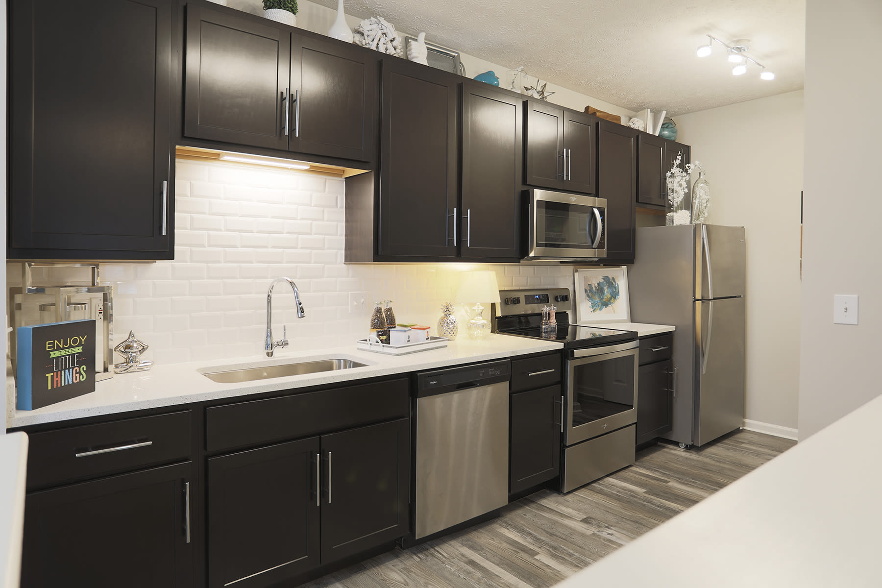 The Landings at Beckett Ridge offers spacious kitchens