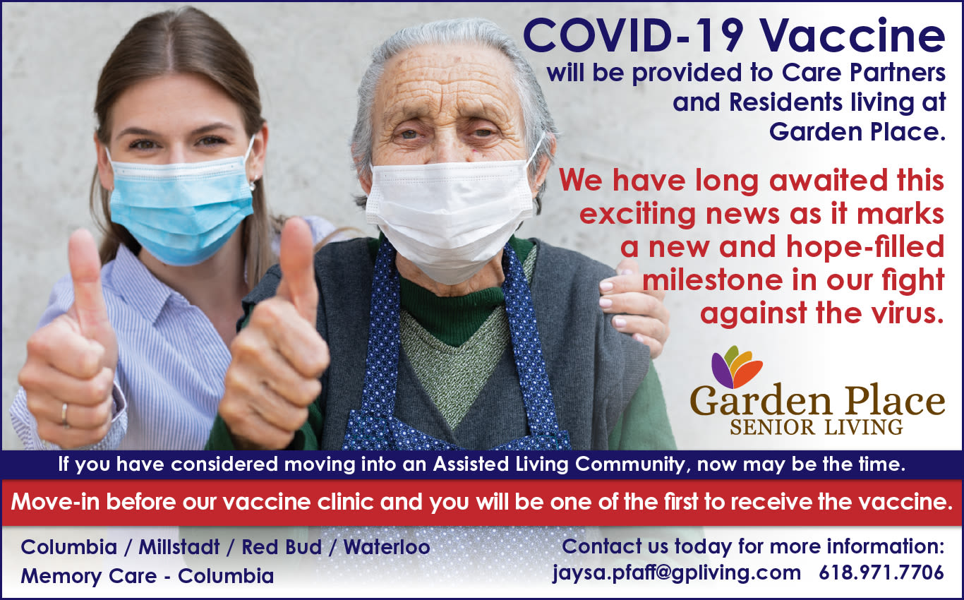 Covid vaccines at Garden Place Columbia