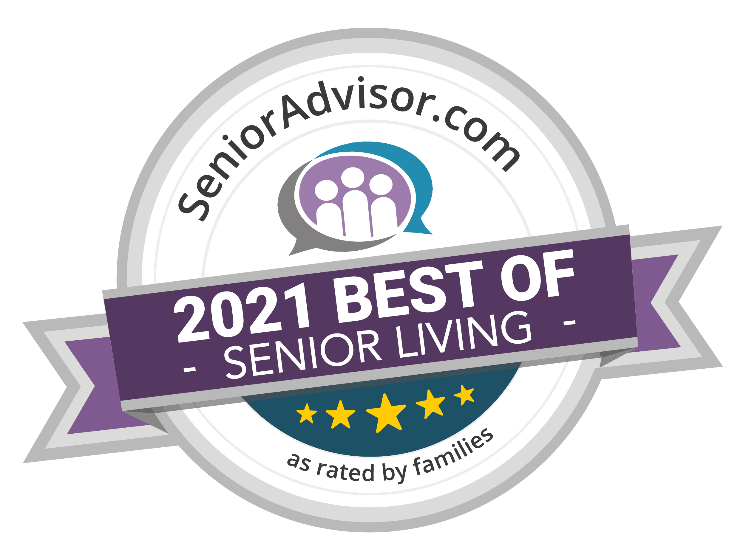 Senioradvisor.com best of 2021 senior living