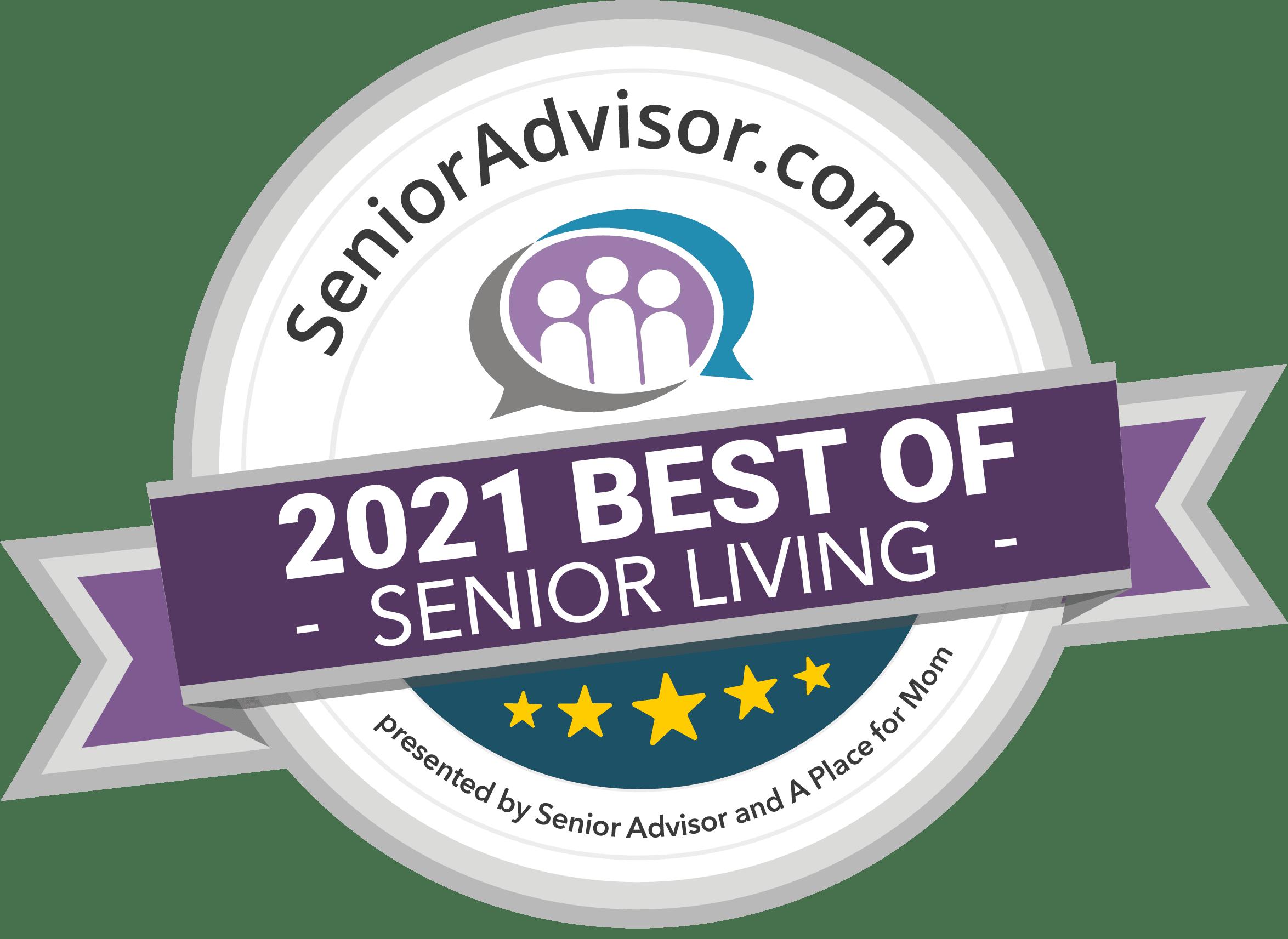 2021 Best of Senior Living