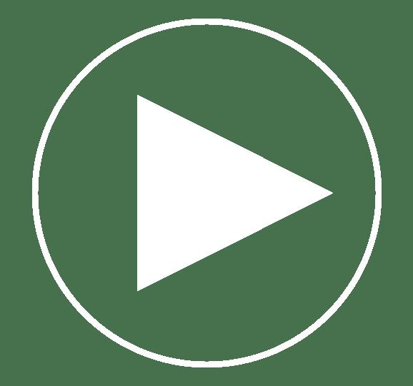 Play button icon for a website by L'Estancia in Studio City, California