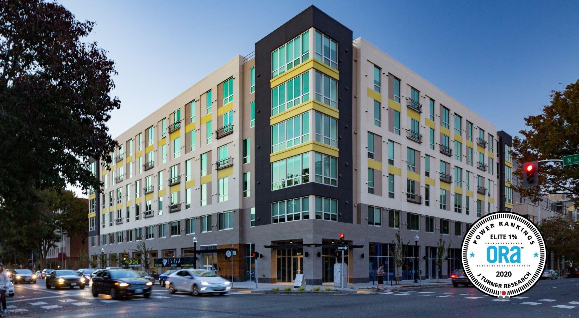Apartments at EVIVA Midtown in Sacramento, California