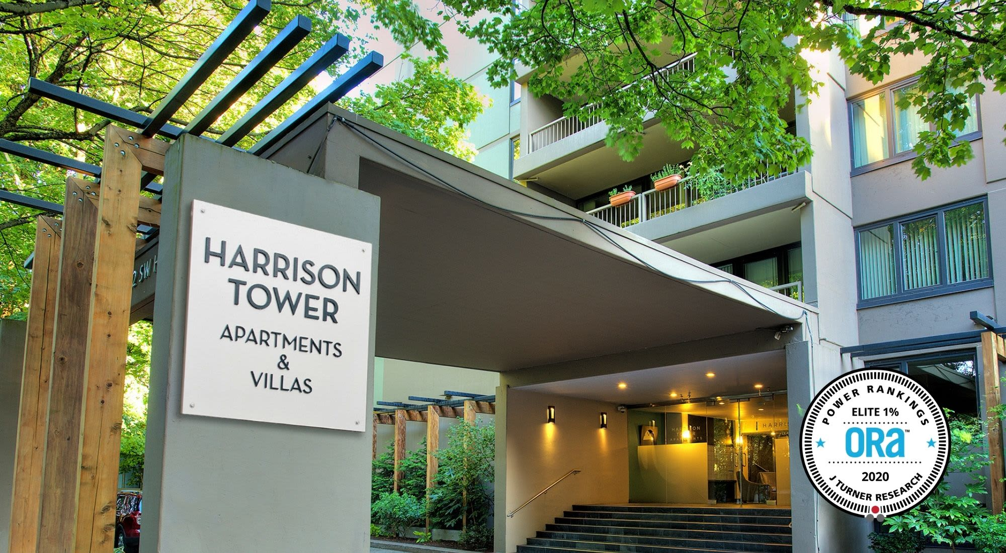 Harrison Tower apartments in Portland, Oregon