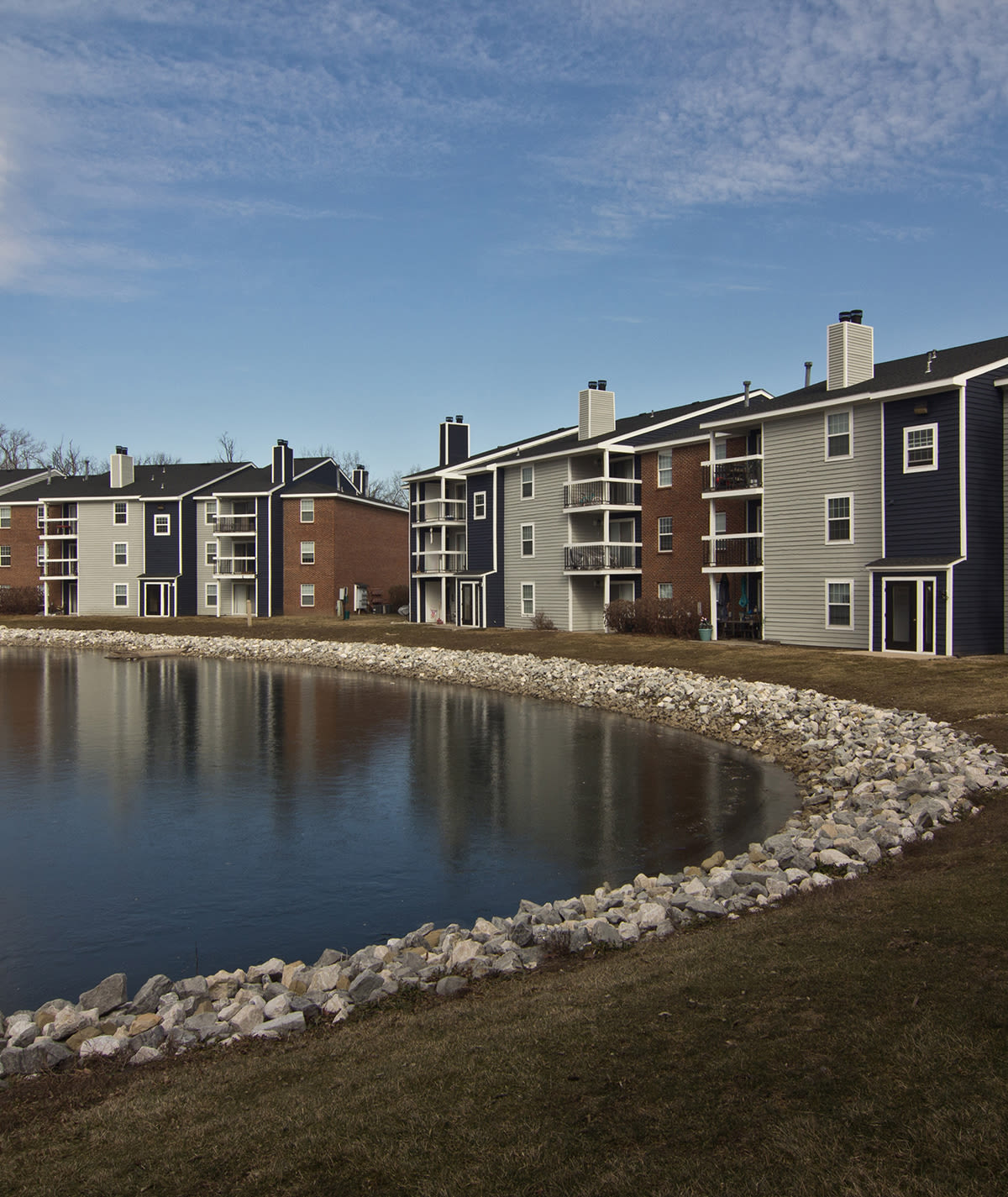 Phenomenal view of Hidden Lakes Apartment Homes in Miamisburg, OH