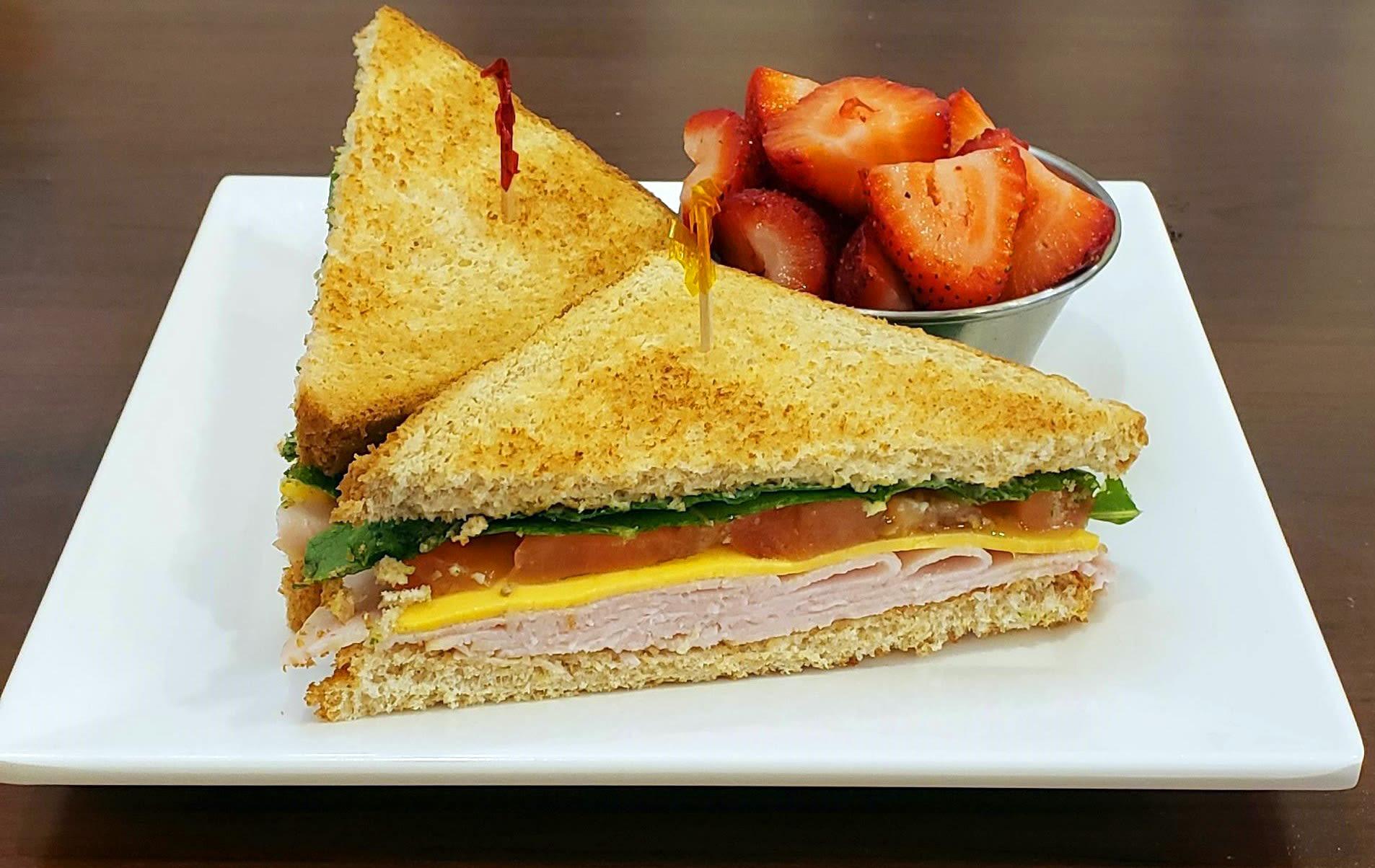 Turkey Sandwich at Blossom Vale Senior Living