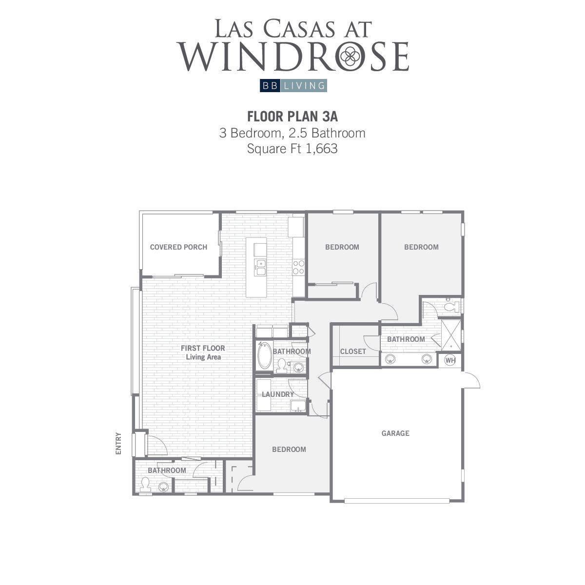 3A 2D floor plan image