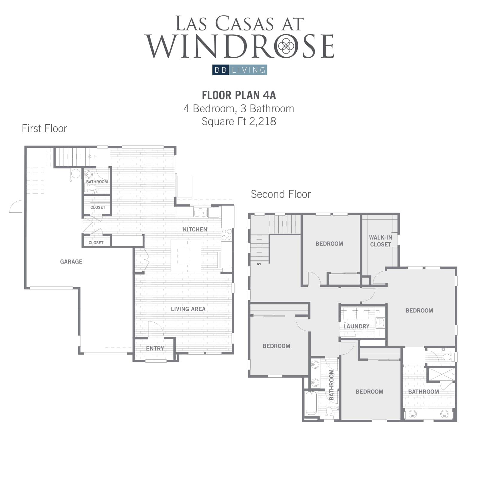 4A 2d floor plan