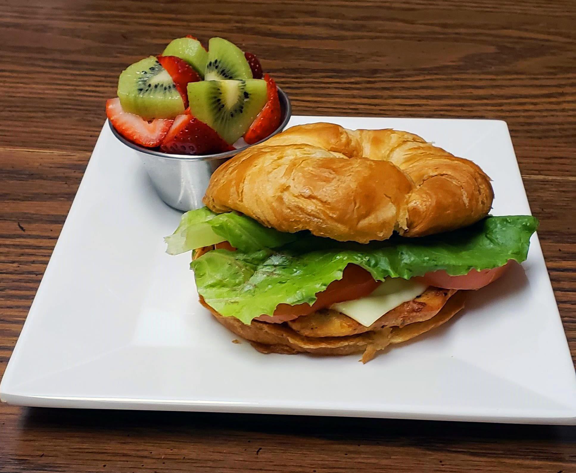 Grilled Chicken Sandwich Timber Pointe Senior Living