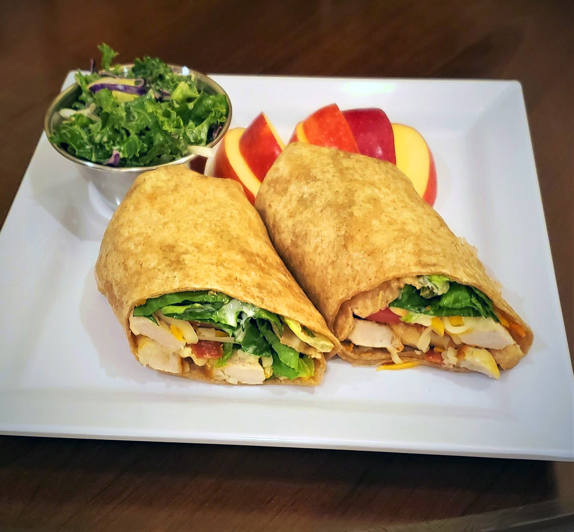 Grilled Chicken Wrap Timber Pointe Senior Living