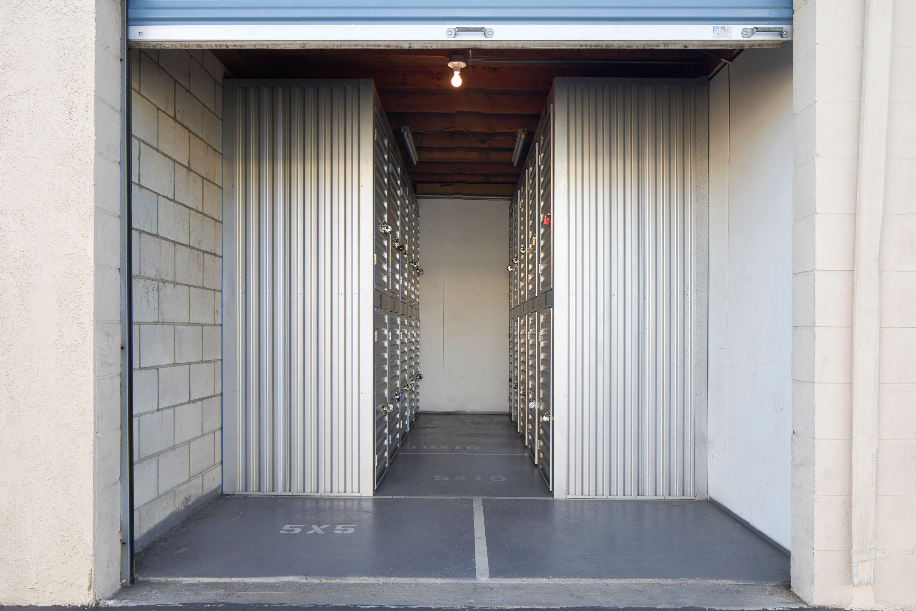 Lockers at Stor'em Self Storage in San Diego, California