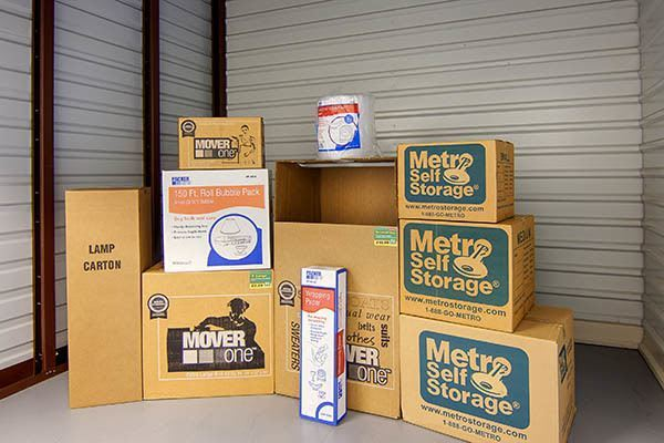 Packing supplies available from Metro Self Storage in Coon Rapids, Minnesota
