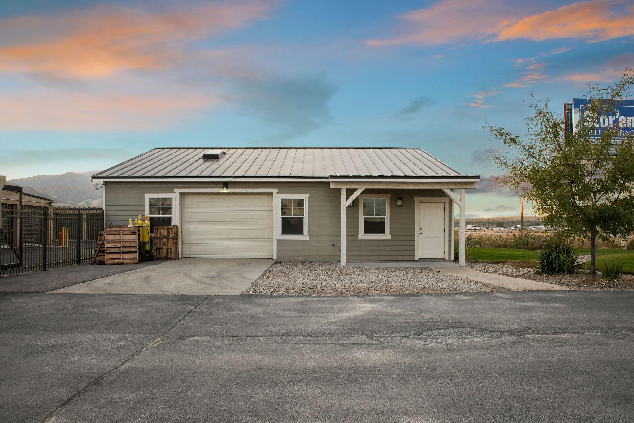 Site building at Stor'em Self Storage in Magna, Utah