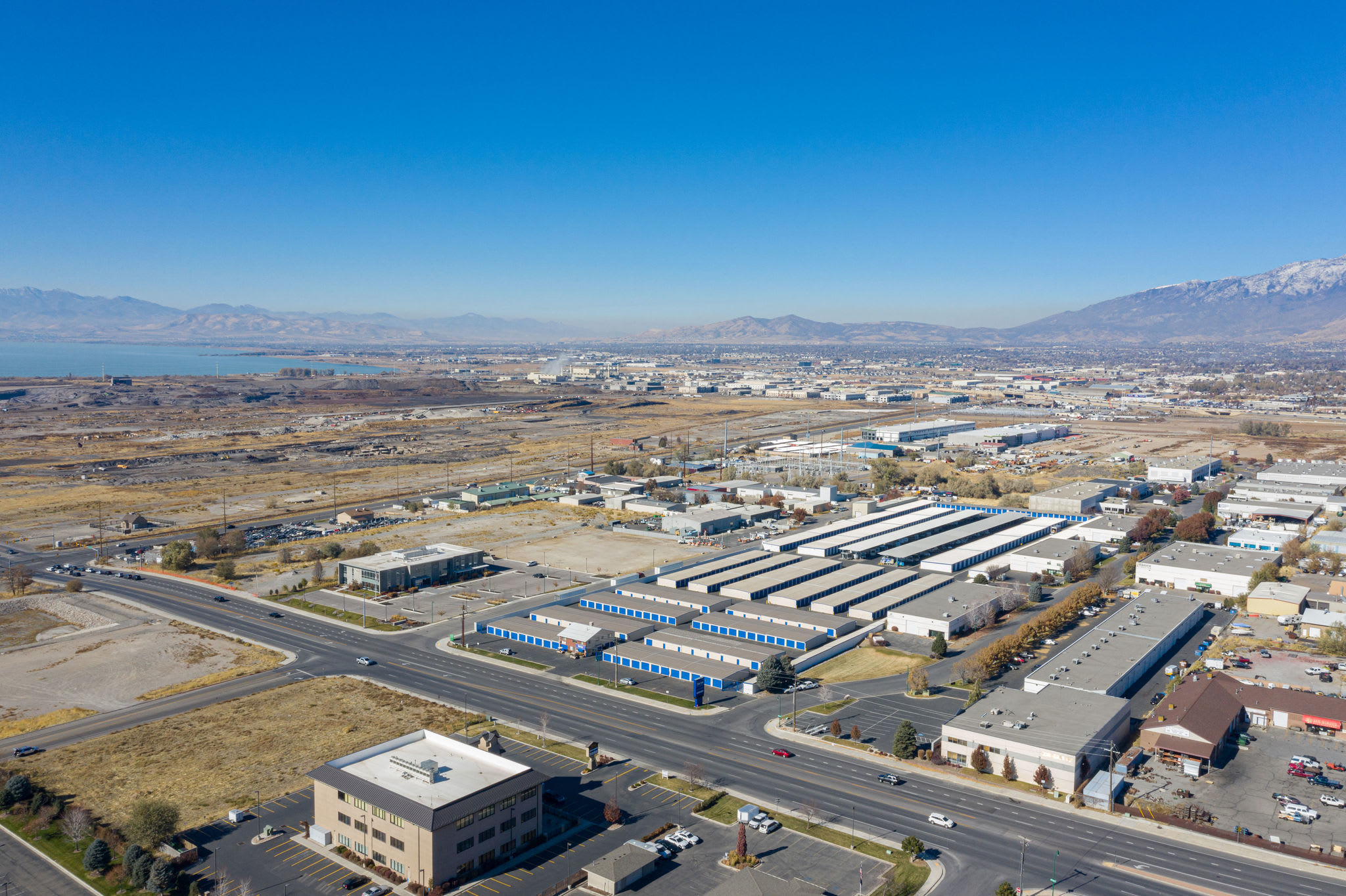 Aerial photo at Stor'em Self Storage in Orem, Utah